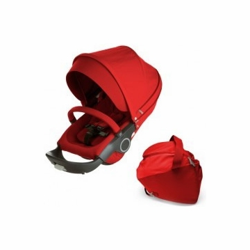 Stokke Xplory Style Kit Seat in Red