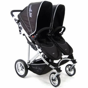 Stroll Air My Duo Stroller in Black