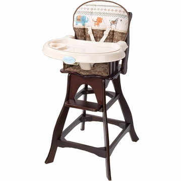 Carter's Animal Parade Wood Highchair by Summer Infant