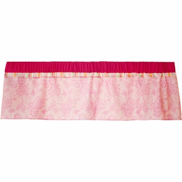 KidsLine Miss Monkey Window Valance