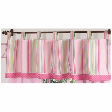 Sweet JoJo Designs Jungle Friends Window Valance