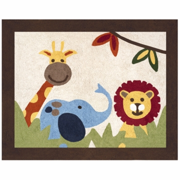 Sweet JoJo Designs Jungle Time Rug