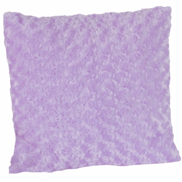 Sweet JoJo Designs Kaylee Purple Minky Swirl Decorative Throw Pillow