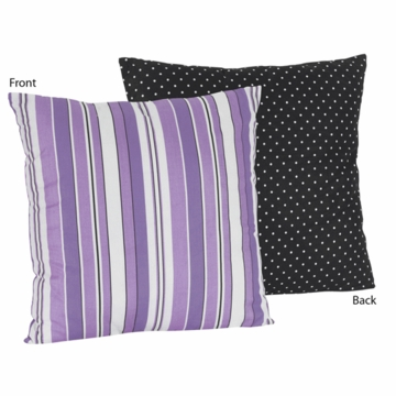Sweet JoJo Designs Kaylee Stripe & Dot Print Decorative Throw Pillow