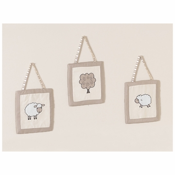 Sweet JoJo Designs Lamb Wall Hangings