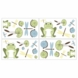 Sweet JoJo Designs Leap Frog Wall Decals
