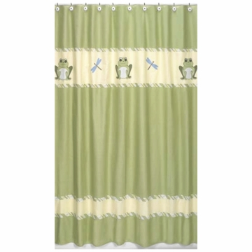 Sweet JoJo Designs Leap Frog Shower Curtain