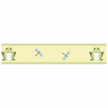 Sweet JoJo Designs Leap Frog Wallpaper Border