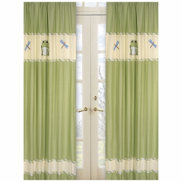 Sweet JoJo Designs Leap Frog Window Panels
