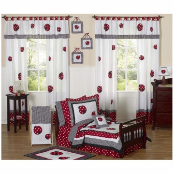 Sweet JoJo Designs Little Ladybug 5 Piece Toddler Bedding Set