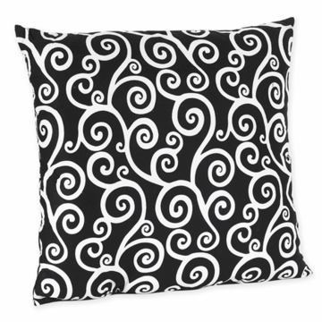 Sweet JoJo Designs Madison Scroll Print Decorative Throw Pillow