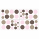 Sweet JoJo Designs Mod Dots Pink Wall Decals