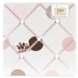 Sweet JoJo Designs Mod Dots Pink Fabric Memo Board