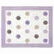 Sweet JoJo Designs Mod Dots Purple Rug