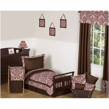 Sweet JoJo Designs Nicole 5 Piece Toddler Bedding Set