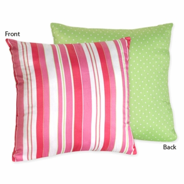 Sweet JoJo Designs Olivia Stripe & Dot Print Decorative Throw Pillow