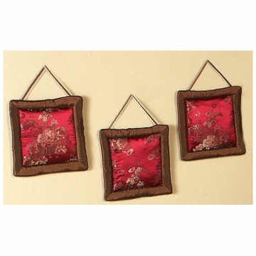Sweet JoJo Designs Oriental Garden Wall Hangings