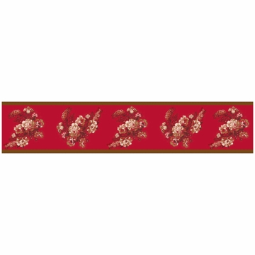 Sweet JoJo Designs Oriental Garden Wallpaper Border