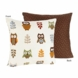 Sweet JoJo Designs Owl Decorative Throw Pillow