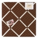 Sweet JoJo Designs Owl Fabric Memo Board