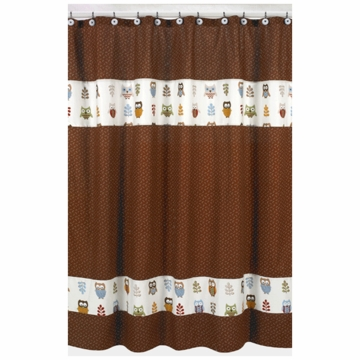 Sweet JoJo Designs Owl Shower Curtain
