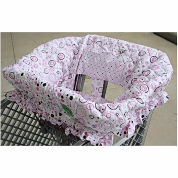 Caden Lane Shopping Cart Cover in Classic Pink