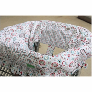 Caden Lane Shopping Cart Cover in Classic Red