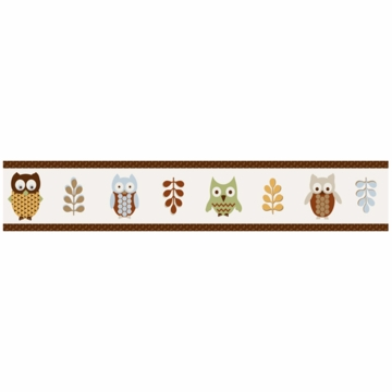 Sweet JoJo Designs Owl Wallpaper Border