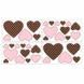 Sweet JoJo Designs Pink & Brown Toile Wall Decals