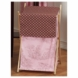 Sweet JoJo Designs Pink & Brown Toile Hamper