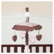 Sweet JoJo Designs Pink & Brown Toile Musical Mobile