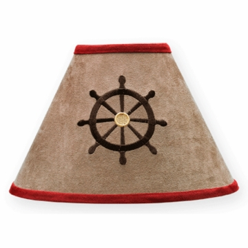 Sweet JoJo Designs Pirate Treasure Cove Lamp Shade