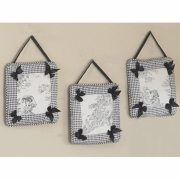 Sweet JoJo Designs Toile Wall Hangings