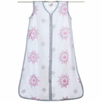 Aden + Anais Muslin Classic Sleeping Bag - For The Birds - Medallions - Small