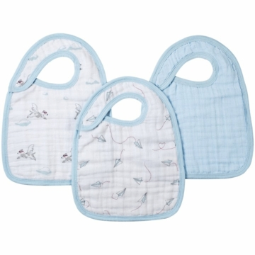 Aden + Anais Snap Bibs - 3 Pack - Liam the Brave