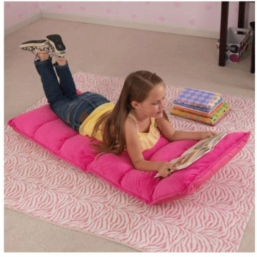 KidKraft Adjustable Lounger Hot Pink