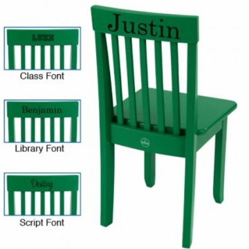 KidKraft Personalized Avalon Chair in Green