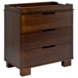 BabyLetto Modo 3 Drawer Changing Table in Espresso