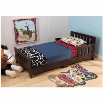 KidKraft Charleston Toddler Bed Espresso