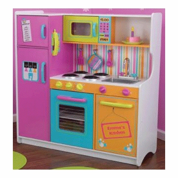 KidKraft Personalized Deluxe Big & Bright Kitchen