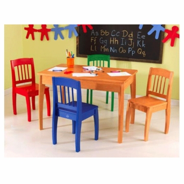 KidKraft Euro Honey Table with 4 Chairs