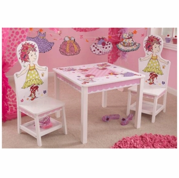 KidKraft Fancy Nancy Table & 2 Chair Set