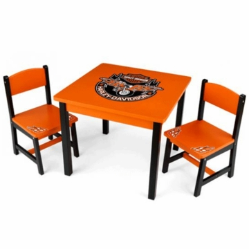 KidKraft Harley Davidson Table & Chair Set