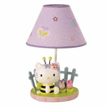 Lambs & Ivy Hello Kitty & Friends Lamp with Shade & Bulb