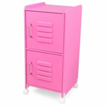 KidKraft Medium Locker in Bubblegum