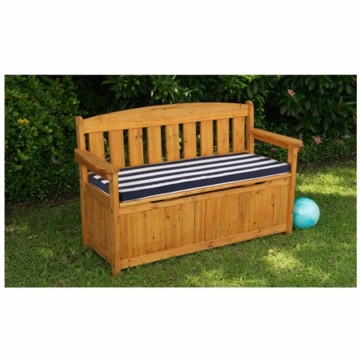 KidKraft Outdoor Storage Bench with Cushion