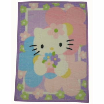 Lambs & Ivy Hello Kitty & Friends Warm & Cozy Blanket