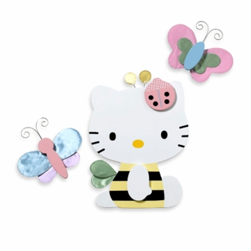 Lambs & Ivy Hello Kitty Friends Wall Decor