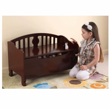 KidKraft Queen Anne Toy Chest in Cherry