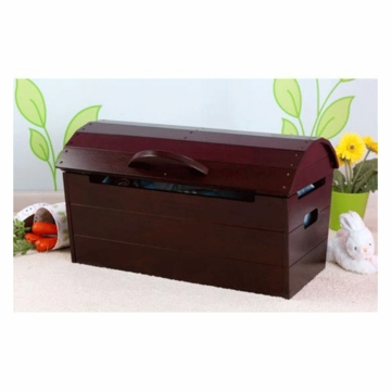 KidKraft Round Top Storage Chest in Espresso